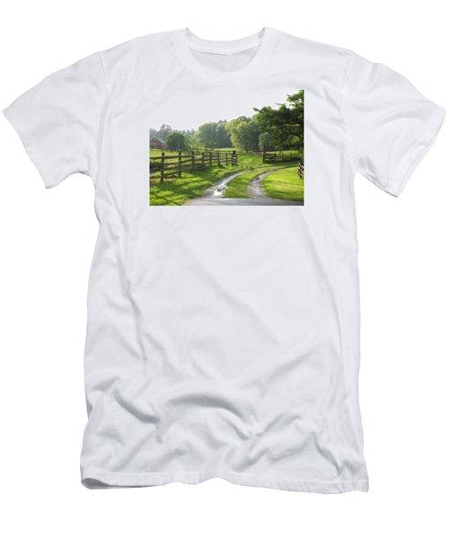 Take A Walk Men's T-Shirt (Athletic Fit)