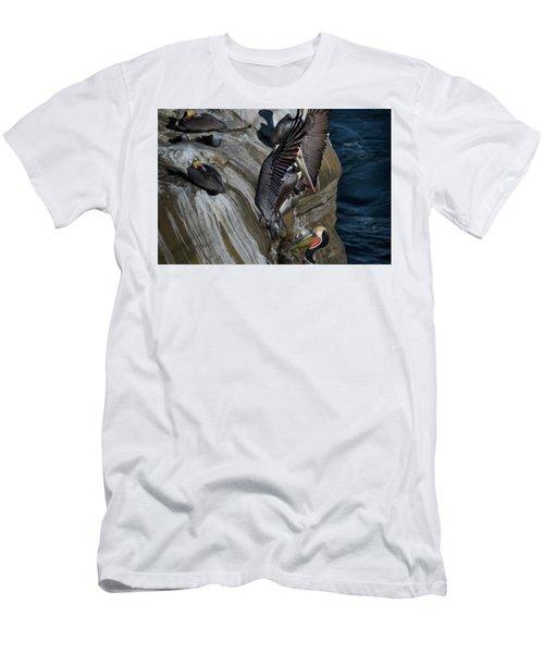 Takeoff Men's T-Shirt (Slim Fit) by James David Phenicie
