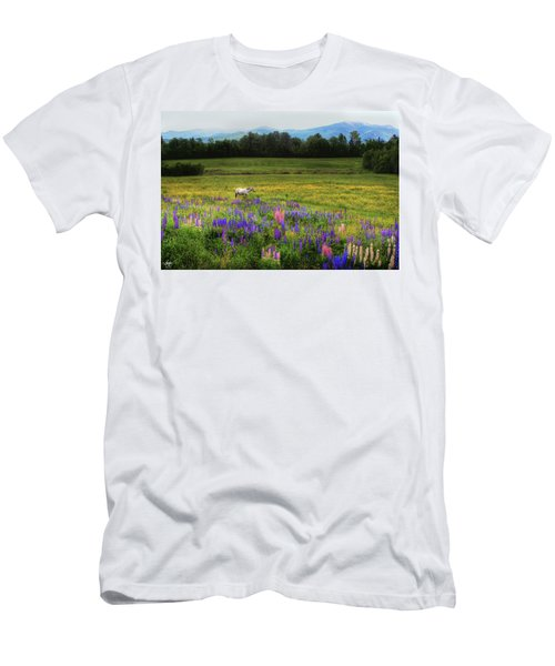 Men's T-Shirt (Athletic Fit) featuring the photograph Taking In The View by Wayne King