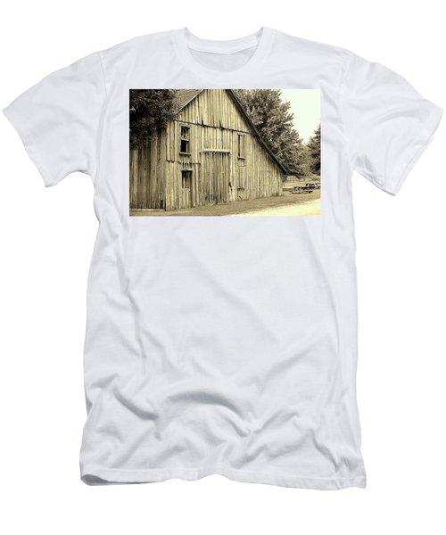 Tall Barn Men's T-Shirt (Athletic Fit)