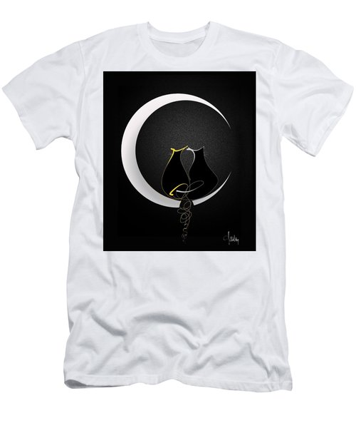 Talleycats - Moonglow Men's T-Shirt (Athletic Fit)