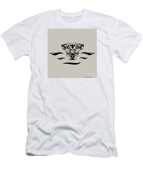 Tan Tribal Gator Men's T-Shirt (Athletic Fit)