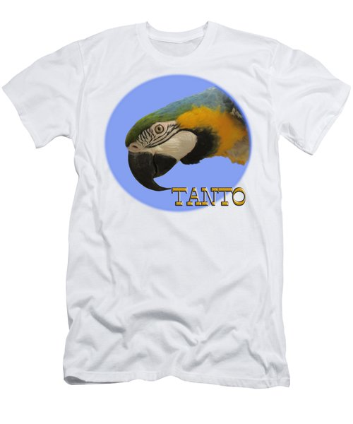 Tanto Men's T-Shirt (Slim Fit) by Zazu's House Parrot Sanctuary