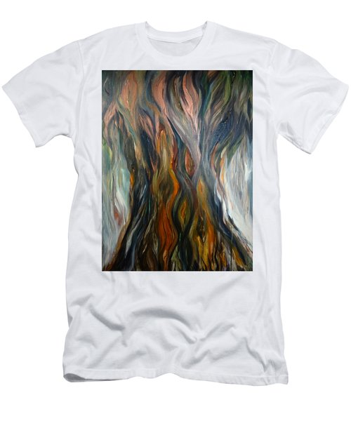 Taotaomo'na Tree Men's T-Shirt (Athletic Fit)