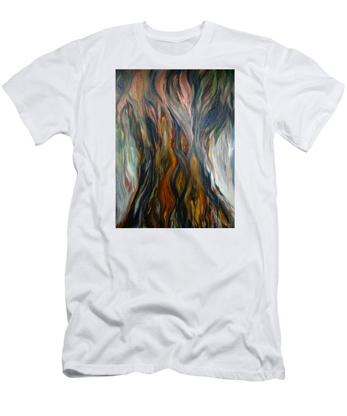 Taotaomo'na Tree Men's T-Shirt (Athletic Fit)