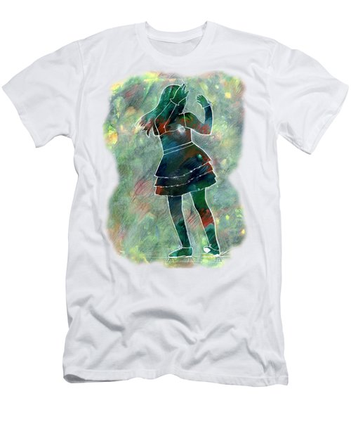 Tap Dancer 1 - Green Men's T-Shirt (Athletic Fit)