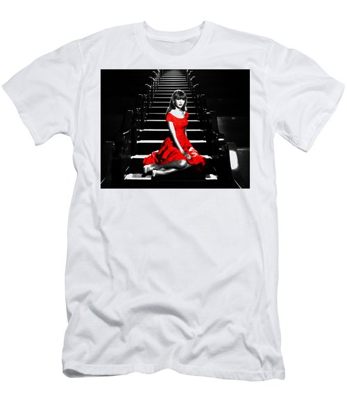 Taylor Swift 8c Men's T-Shirt (Slim Fit) by Brian Reaves