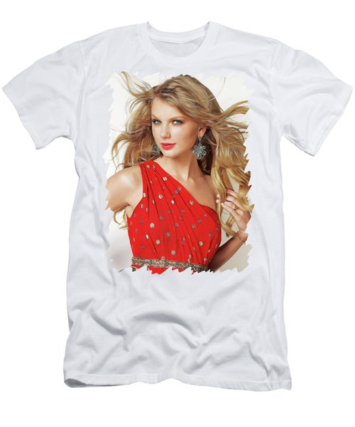 Taylor Swift Men's T-Shirt (Slim Fit) by Twinkle Mehta