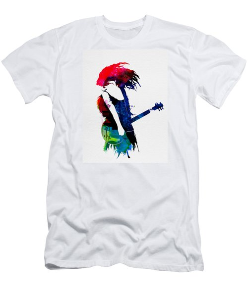 Taylor Watercolor Men's T-Shirt (Slim Fit) by Naxart Studio