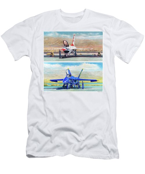 Tbirds And Angels Maintenance Men's T-Shirt (Athletic Fit)
