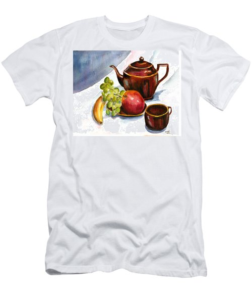 Tea And Fruit Men's T-Shirt (Athletic Fit)