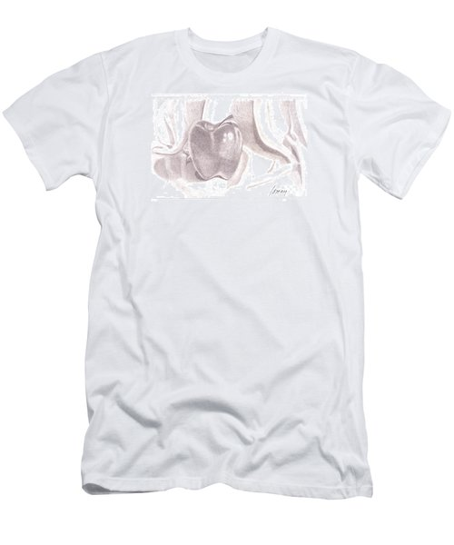 Men's T-Shirt (Athletic Fit) featuring the drawing Teacher's Pet by Rod Ismay