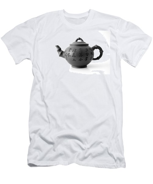 Men's T-Shirt (Slim Fit) featuring the photograph Teapot by Gina Dsgn