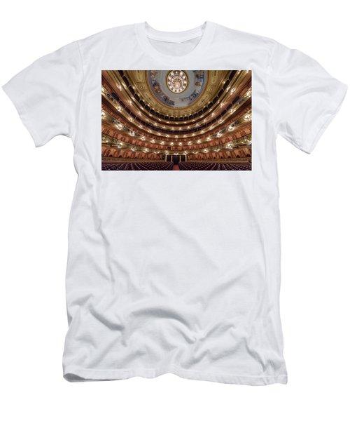 Teatro Colon Performers View Men's T-Shirt (Athletic Fit)