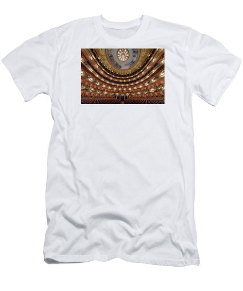 Teatro Colon Performers View Men's T-Shirt (Athletic Fit)