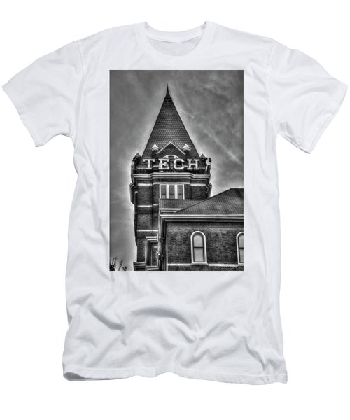 Tech B W Georgia Institute Of Technology Atlanta Georgia Art Men's T-Shirt (Athletic Fit)