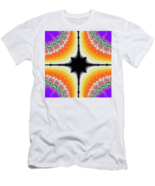 Men's T-Shirt (Athletic Fit) featuring the digital art Fractal 7 1x1 by Daniel George