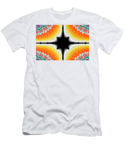 Men's T-Shirt (Athletic Fit) featuring the digital art Fractal 7 2x3 by Daniel George