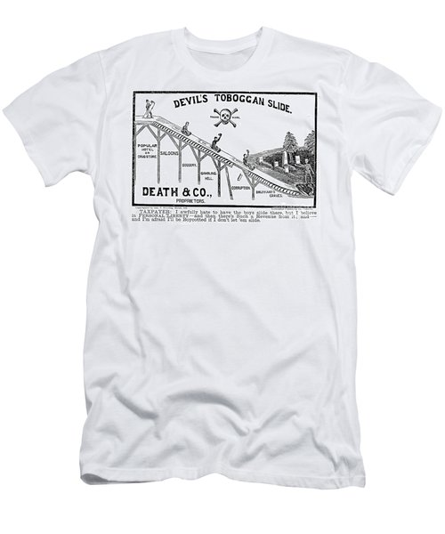 Temperance Movement 1887 Men's T-Shirt (Athletic Fit)