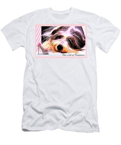Temptation Men's T-Shirt (Athletic Fit)
