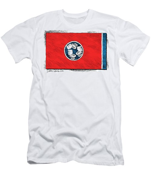 Tennessee Bathroom Flag Men's T-Shirt (Athletic Fit)
