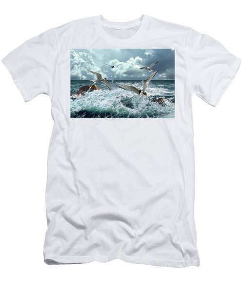 Terns In The Surf Men's T-Shirt (Athletic Fit)
