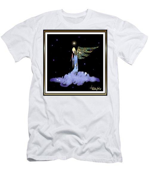 Heavenly Visit Men's T-Shirt (Athletic Fit)