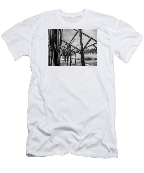Men's T-Shirt (Slim Fit) featuring the photograph Testament by Rhys Arithson