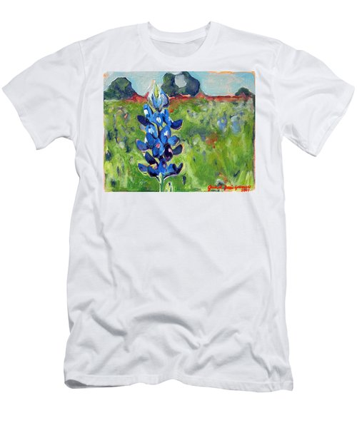 Texas Blue Bonnet Men's T-Shirt (Athletic Fit)