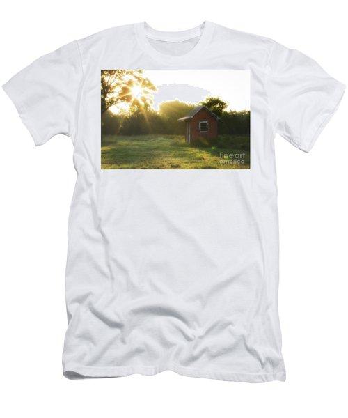 Texas Farm Men's T-Shirt (Athletic Fit)