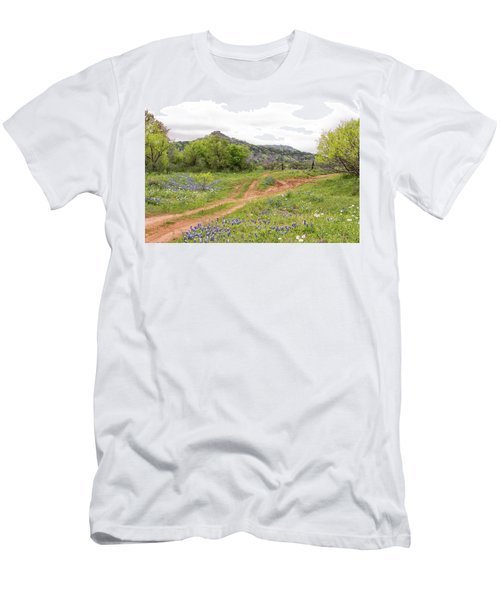 Texas Hill Country Men's T-Shirt (Athletic Fit)