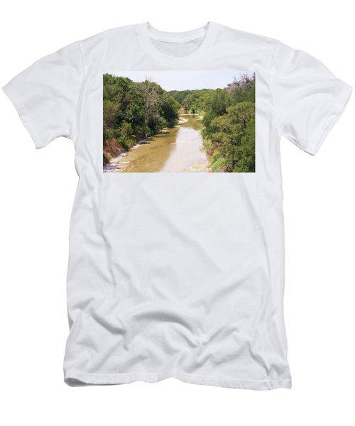Texas River Men's T-Shirt (Athletic Fit)