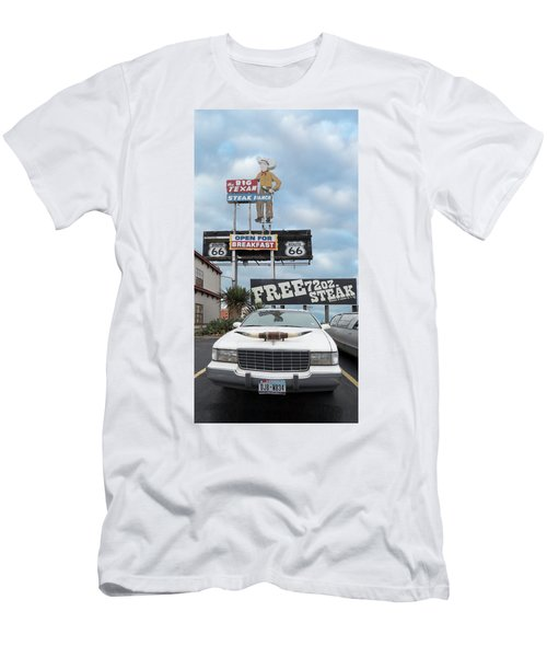 Texas Steak House Kitsch  Men's T-Shirt (Athletic Fit)