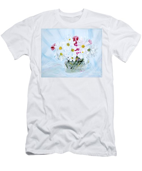 Thank You. Thank You - Je Vous Remerci Collection Of 2 Paintings Men's T-Shirt (Athletic Fit)