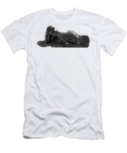 That Beautiful Black Panther Men's T-Shirt (Athletic Fit)