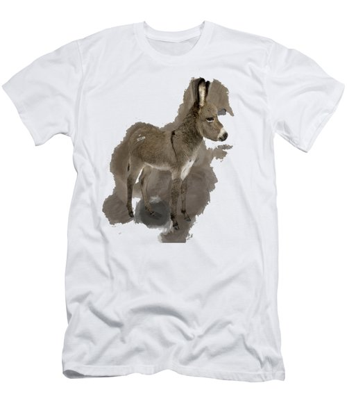 That Cute Donkey Foal In Profile Men's T-Shirt (Athletic Fit)