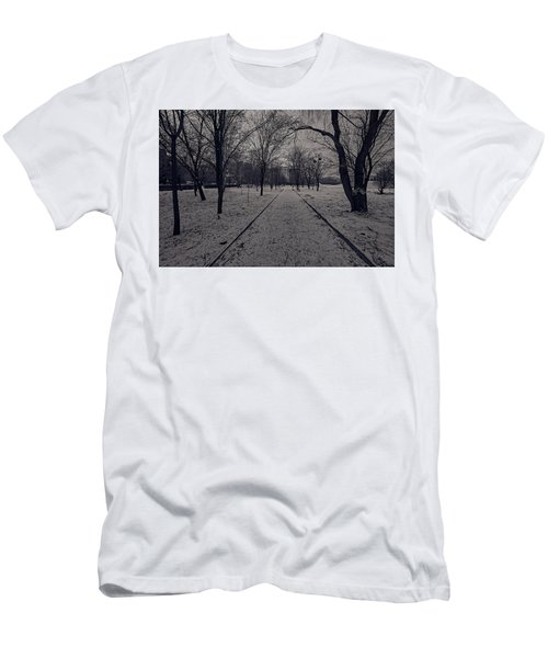 Men's T-Shirt (Athletic Fit) featuring the photograph That Road by Tgchan