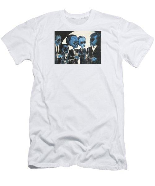 The Alien Rat Pack Men's T-Shirt (Athletic Fit)