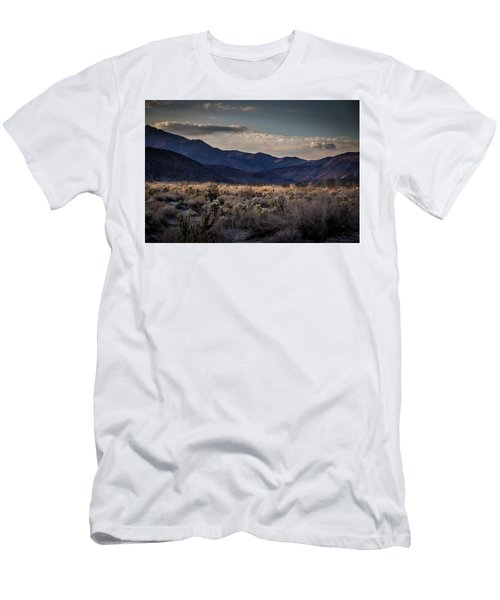 Men's T-Shirt (Slim Fit) featuring the photograph The American West by Peter Tellone