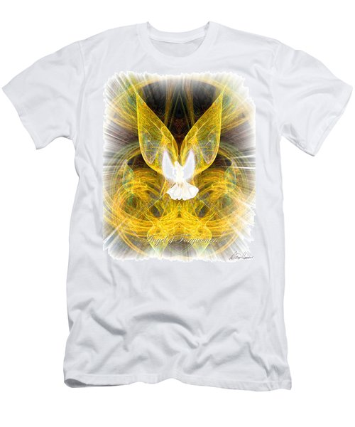 The Angel Of Forgiveness Men's T-Shirt (Athletic Fit)
