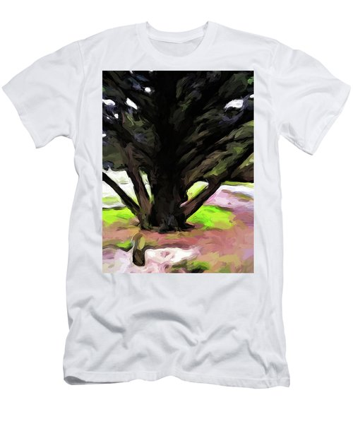 The Avenue Of Trees 1 Men's T-Shirt (Athletic Fit)