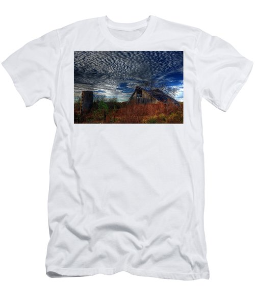 The Barn At Twilight Men's T-Shirt (Athletic Fit)