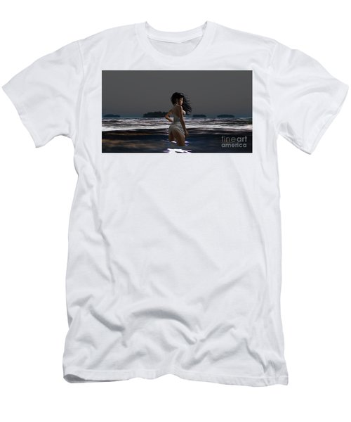 The Beach 4 Men's T-Shirt (Athletic Fit)
