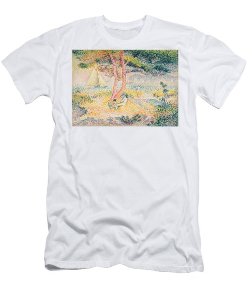 The Beach At St Clair Men's T-Shirt (Athletic Fit)