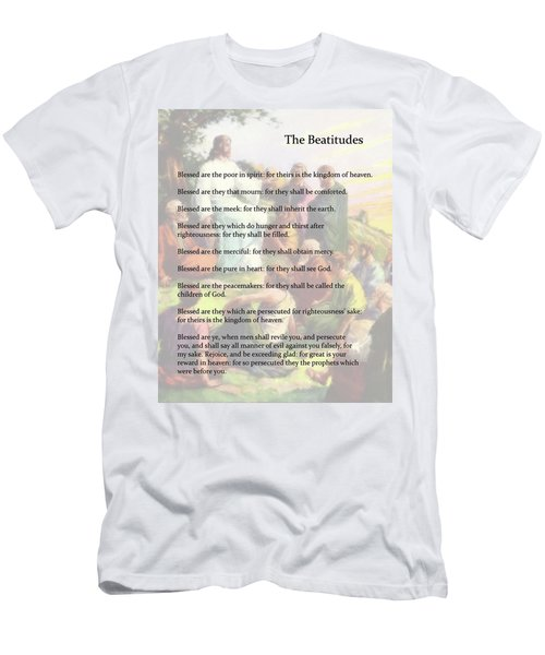 The Beatitudes Men's T-Shirt (Athletic Fit)