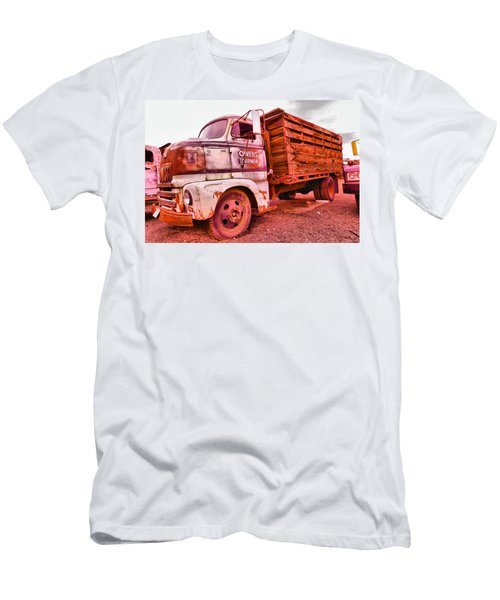Men's T-Shirt (Slim Fit) featuring the photograph The Beauty Of An Old Truck by Jeff Swan