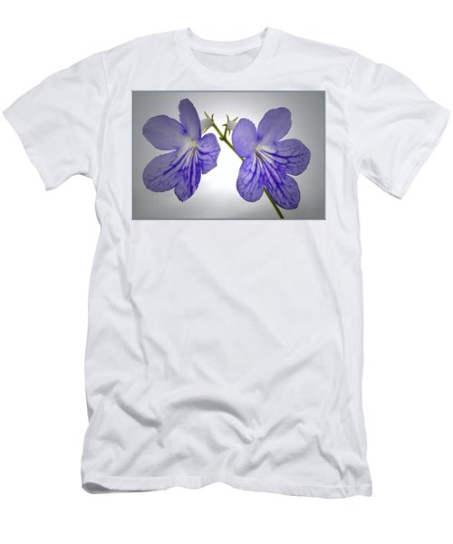 Men's T-Shirt (Slim Fit) featuring the photograph The Betham Twins. by Terence Davis