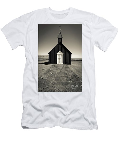Men's T-Shirt (Athletic Fit) featuring the photograph The Black Church by Edward Fielding