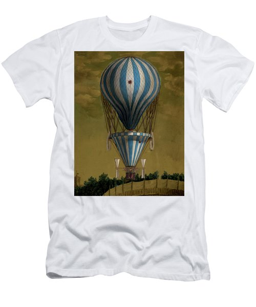 The Blue Balloon Men's T-Shirt (Athletic Fit)