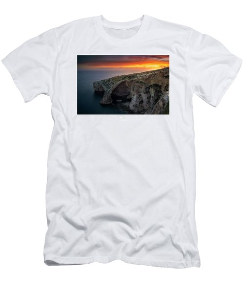 The Blue Grotto Men's T-Shirt (Athletic Fit)